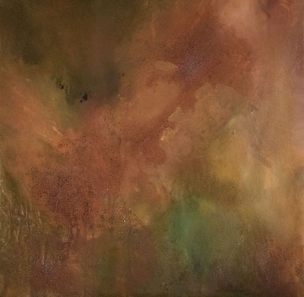 Ruggine della memoria #3 - Painting - rossella barbante