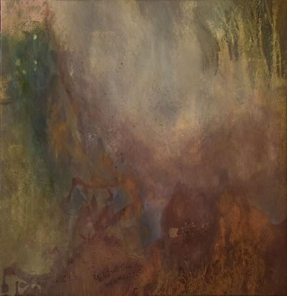 Ruggine della Memoria #4 - Painting - rossella barbante