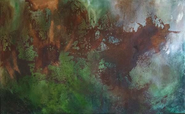 Paesaggio celato - Painting - rossella barbante
