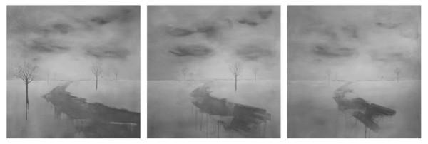 Si inizia con e si finisce senza - Painting - Chantal Criniti