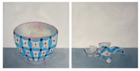Rimasero solo dei cocci (neanche tutti) #3 - Pittura - Chantal Criniti