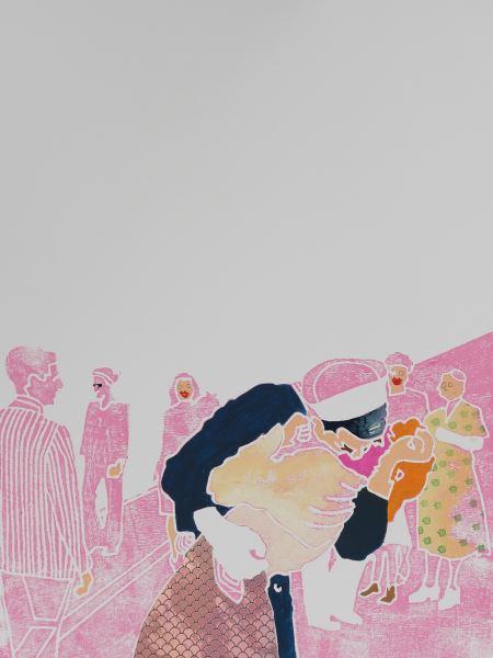 Dopoguerra - Painting - tiziana lutteri