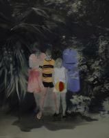 Cartolina senza titolo - Painting - Maria Pilotto