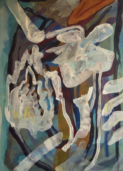 Modern love - Painting - ELIEL DAVID