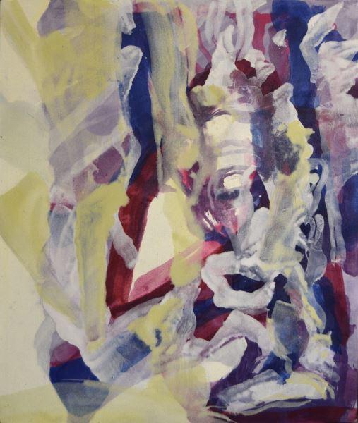 Variación no. 1 - Painting - ELIEL DAVID