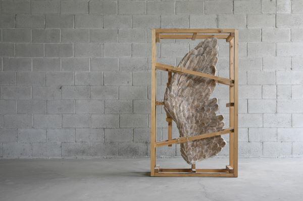 Cage N1 - Ala Nike di Samotracia - Sculpture - Daniele Accossato