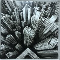 The Wave II - Painting - Fabio Giampietro