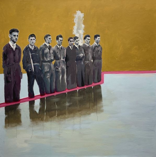 Workers - Painting - Gabriele Colletto