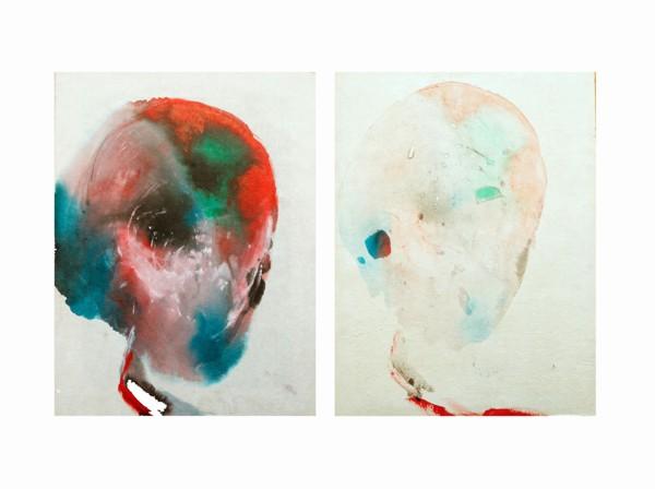 Ciò che rimane - Painting - Virginia Dal Magro