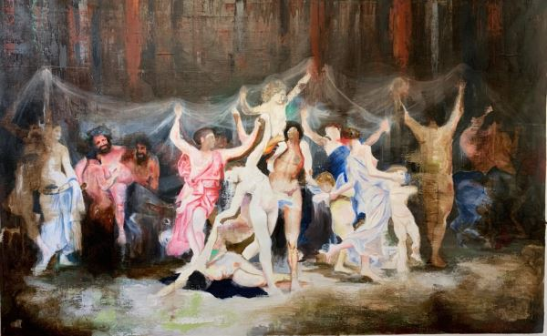 Let's Dance - Painting - Gabriele Colletto