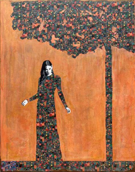 Humility - Painting - Jose Cacho