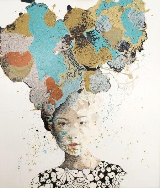 On My Skin - Painting - Alessandro Casetti