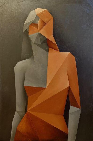 Untitled - Painting - Guido Sileoni