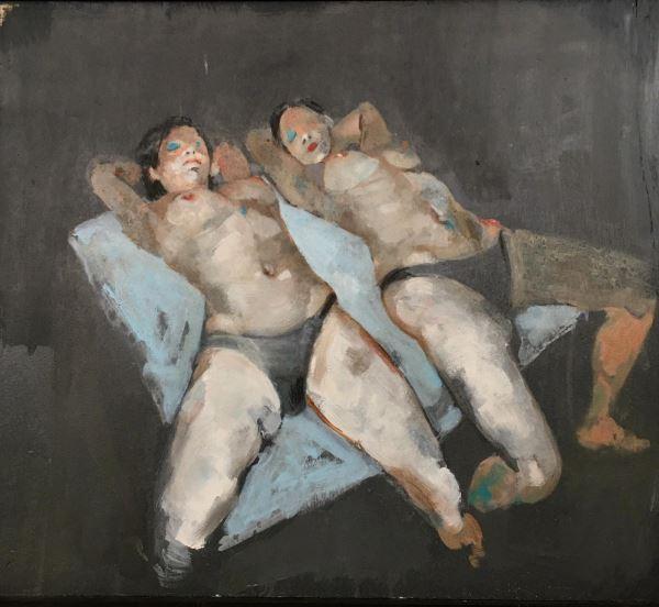 Untitled - Painting - Massimo lagrotteria