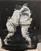 Entanglement - Painting - Massimo lagrotteria