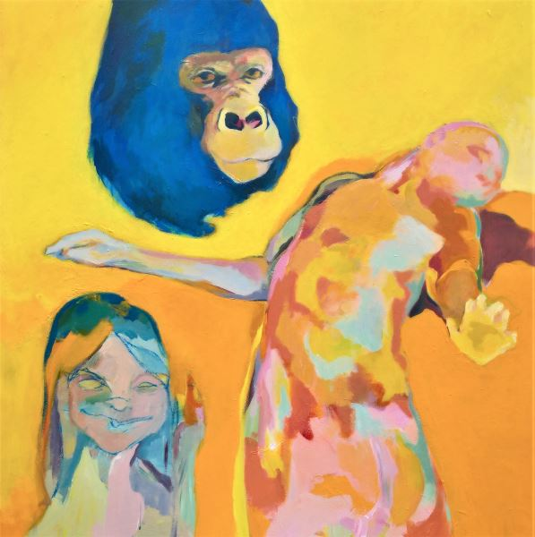 Incanto - Painting - Michele Stagni