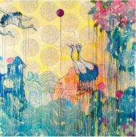 Paradise Between 7 - Painting - Kim Hee Sook