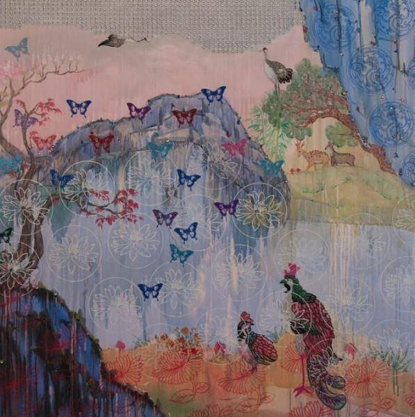 Nirvana 9 - Painting - Kim Hee Sook