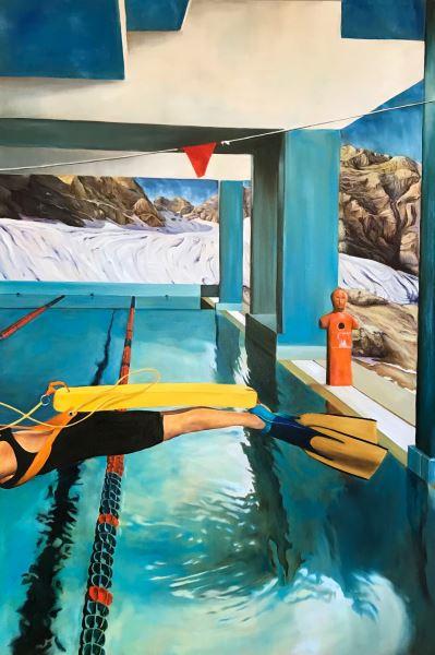 Senza confini - Painting - Sofia Fresia
