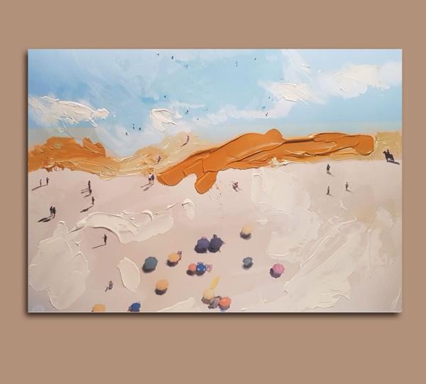 Il Cielo Sotto la Terra - Painting - Golsa Golchini