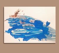 The game of the sea - Pittura - Golsa Golchini