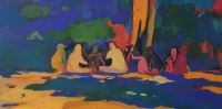 Ieri Oggi Domani  - Painting - Michele Stagni