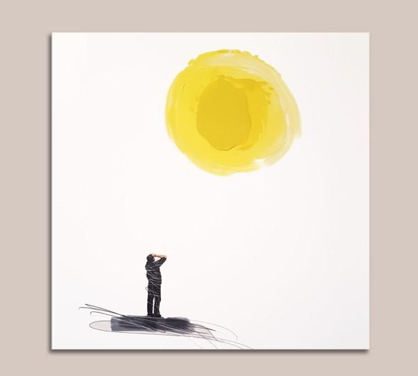 look at the sun - Pittura - Golsa Golchini